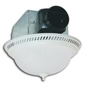 Air King DRLC703 Round Fan/Light Series Exhaust Fan - Exhaust Fans