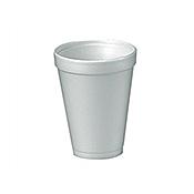 Dart 12 oz. Foam Cups - Disposable Cups & Lids