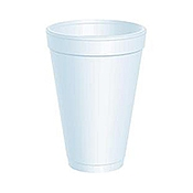Dart 12 oz. Foam Cups - Disposable Cups & Lids