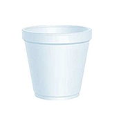 Dart 16 oz Round Foam Food Containers - Styrofoam Food Containers