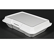 Dart Medium 1-Compartment Foam Containers - Styrofoam Food Containers