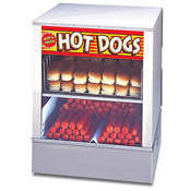 APW DS-1A Hot Dog Steamer, 150 Hot Dogs and 60 Bun Capacity - Hot Dog Equipment and Supplies
