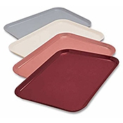 "Dinex 14"" x 18"" Flat Patient Trays - Cafeteria Trays"