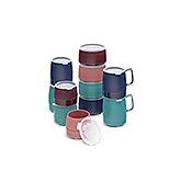 Dinex Translucent Lids for 12 oz Bowls - Dinex