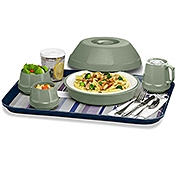Dinex Insulated Dome Covers - Meal Delivery
