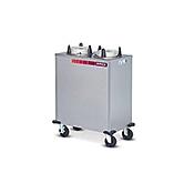 "Dinex Heated Enclosed 3 Silo 10-1/8"" Plate Dispenser - Plate Dispensers"