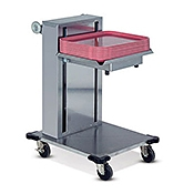 "Dinex Cantilever Single-Stack 14"" x 18"" Tray Dispenser - Dinex"