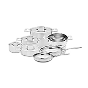 Demeyere 48001 10 pc Industry Pot/Pan Set - Cookware Sets