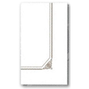 Dinex Marbled Elegance 1/8-Fold Paper Dinner Napkins - Napkins