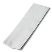 Dinex White 1/12-Fold Paper Dinner Napkins - Napkins