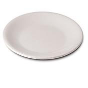 """Dinex 9"""" White Entree Melamine Plates - Dinner Plates"""