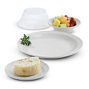 Disposable Clear Dome Lids for Dinex Bowls and Plates - Disposable Serving Bowls & Lids