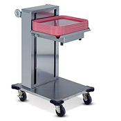 "Dinex Cantilever Single-Stack 15"" x 20"" Tray Dispenser - Dinex"