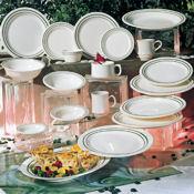 "G.E.T. Emerald Dinnerware 10"" Plates - Dinner Plates"