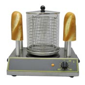 Equipex CS4E Sodir Hot Dog Machine & Steamer - Hot Dog Equipment and Supplies
