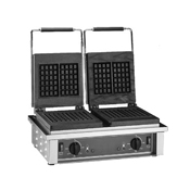 Equipex GED Electric Double Waffle Baker - Commercial Waffle Makers