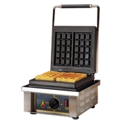 Equipex GES/1 Electric Waffle Baker - Commercial Waffle Makers
