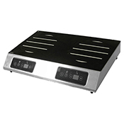 Equipex GL2-3500 Adventys Countertop Induction Cooker - 2 Burners Side-to-Side - Equipex