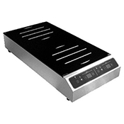 Equipex GL2-3500F Adventys Countertop Induction Cooker - 2 Burners Front-to-Back - Equipex