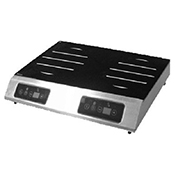 Equipex GL2-5000F Adventys Countertop Induction Cooker - 2 Burners Front-to-Back - Equipex