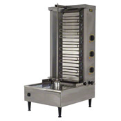Equipex GR 80E 88 lb. Meat Capacity 3 Independently Controlled Heating Zones Sodir Gyro Grill - Equipex
