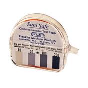 FMP 142-1158 Chlorine Sanitizer Litmus Test Kit - Safety Supplies