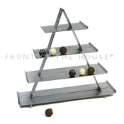 Front of the House BHO017BSS20 Stainless Steel Tasting Tower - Display Risers