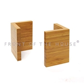 Front of the House BHO032BBB20 Large Bamboo Riser - Display Risers