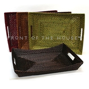 """Front of the House BPT029BRK22 17"""" Rectangular Flare Tray - Serving Trays"""