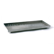 Front of the House RTR014BSS12 Rectangle Stainless Steel Tray - Serving Trays