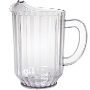 FSE 60 oz Clear Plastic Pitcher (Standard) - Foodservice Essentials
