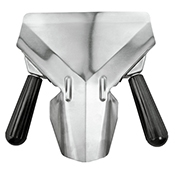 FSE FFB-D Stainless Steel French Fry Bagger - Foodservice Essentials
