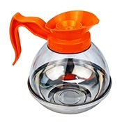 FSE CD-64PO 64 oz Orange Coffee Decanter - Foodservice Essentials