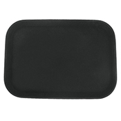 "FSE FFT-1014BK 10"" x 14"" Black Fast Food Tray - Foodservice Essentials"