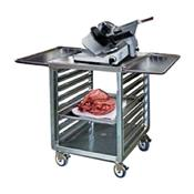F.W.E. OTR-15-MSWT Mobile Work Table with Open Tray Rack