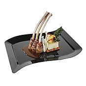 """Fineline Settings 1410 Wavetrends 10"""" x 15.75"""" Dinner Plate - Fineline Settings"""