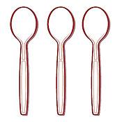 Fineline Settings 2513 Flairware Extra Heavy Cutlery-Soup Spoon - Fineline Settings