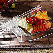 "Fineline Settings 6504 Tiny Temptations 5.5"" Tiny Tweezers - Catering & Buffet Disposables"