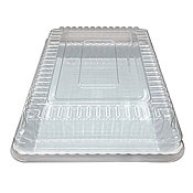 "Fineline Settings 9293-L Flairware 9"" x 13"" Serving Tray Dome Lid - Disposable Catering Trays & Lids"