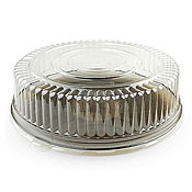 "Fineline Settings 9801-L Platter Pleasers 18"" Dome Lid ONLY - Disposable Catering Trays & Lids"