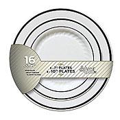 Fineline Settings BB507 White Splendor Plate Combo Pack - Fineline Settings