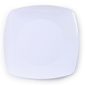"Fineline Settings 1506-WH Renaissance 5.5"" White Dessert Plate - Fineline Settings"