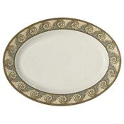 "G.E.T. Mosaic Servingware 18"" x 13-1/2"" Oval Platter - Servingware"