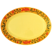 """G.E.T. Venetian Servingware 21"""" x 15"""" Oval Platter - Servingware"""