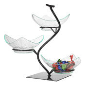 Gourmet Display Vine Tier with Acrylic Vine Bowls - Display Risers