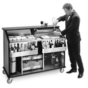 Geneva 889 Party Pleaser Portable Bar - Portable Bars