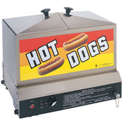 Gold Medal 8007 Steamin' Demon Hot Dog Steamer 80-90 Hot Dogs 30-40 Buns - Hot Dog Equipment and Supplies
