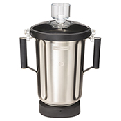 Hamilton Beach 6126-1100S 1 Gallon/4L Stainless Steel Blender Container - Blender Parts and Accessories