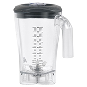 Hamilton Beach 6126-1200 Revolution 64 oz./1.8 L Polycarbonate Blender Container - Blender Parts and Accessories