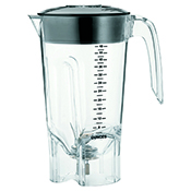 Hamilton Beach 6126-450 Tango 48 oz./1.4 L Polycarbonate Blender Container - Blender Parts and Accessories